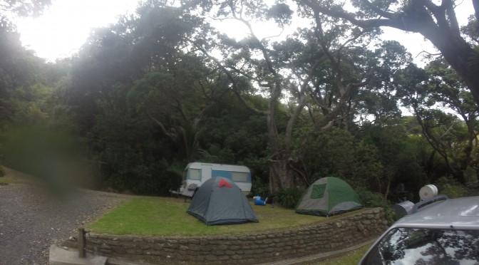 Camping in the Coromandel
